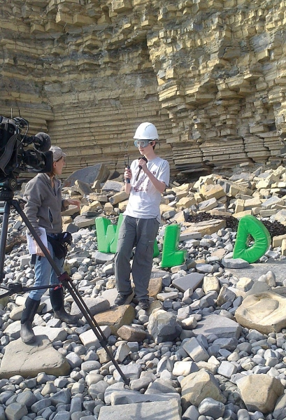 68-going-wild-about-fossils-for-cbbc-being-filmed