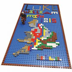 Previous Rockstar Entry for Inspiration! William Smith map in Lego.