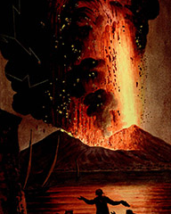 Volcanoes – New Exhibition at the Bodleian Library, Oxford