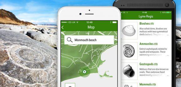 Vital for fossil hunters!  New NHM Fossil Explorer app.