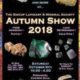 Sidcup Lapidary Show on Saturday October 6 2018