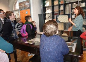 Fantastic fieldtrip to the Lapworth Museum