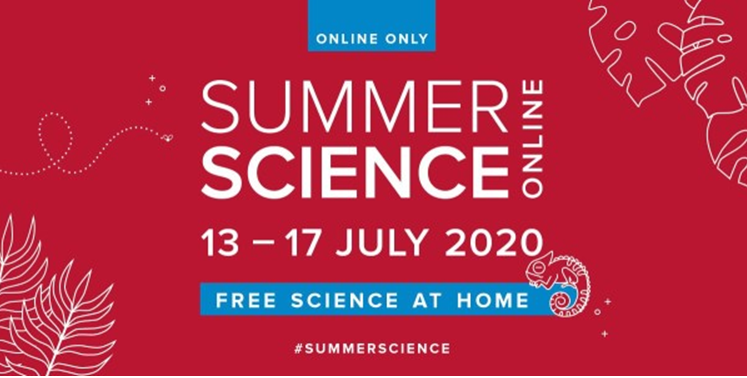 The Royal Society's Summer Science Online 2020