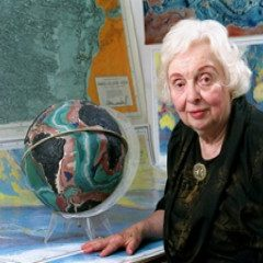 Celebrating Ocean Mapmaker Marie Tharp