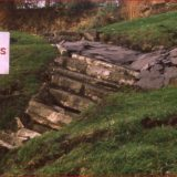 Nothe Gardens Landslide, then and now