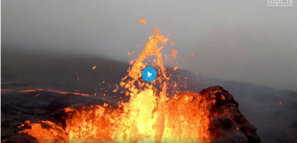 Look into the eye of a volcano