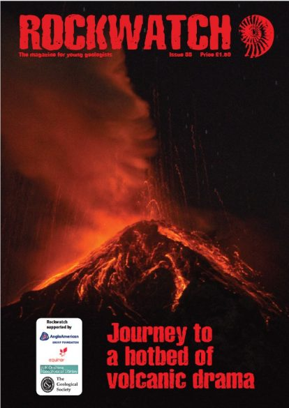 Cover of issue 88 of the Rockwatch magazine published August 2021